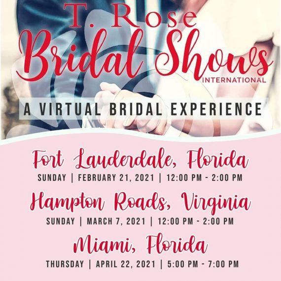 Upcoming T Rose Bridal Shows
